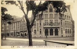 La Chambre de commerce et le boulevard Sévigné
