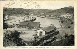 Port du Légué. Le Bassin à Flot   