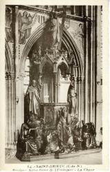 Basilique Notre-Dame de l'Espèrance. La chaire  |