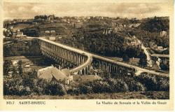 Le Viaduc de Souzain et la Vallée du Gouët  |
