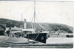 Le Légué. Les quais du bassin à flot   