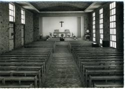 Paroisse Saint-Guénolé, Ville Ginglin, Saint-Brieuc, vue intérieure de l'église  |