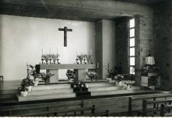 Paroisse Saint-Guénolé, Ville Ginglin, détail du choeur de l'église  |