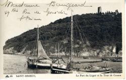 Le Port du Légué et la Tour de Cesson   