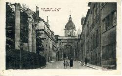 Besançon-St-Jean. Square Castan  |