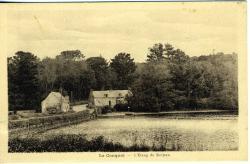 Le Conquet, l'étang de Kerjean   