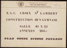 Gymnase de la Croix Saint-Lambert |