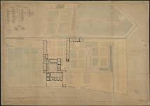 Hospice de Saint-Brieuc. Projet de reconstruction. Plan dressé en 1848 par M. Guépin architecte de la ville de Saint-Brieuc et du département des Côtes du Nord.  | Guépin, Alphonse