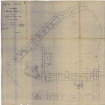 Collège de jeunes filles. Plan du sous-sol. | Baratoux, Charles