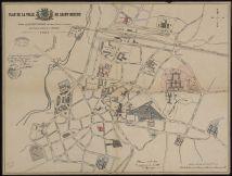 Plan de la ville de Saint-Brieuc, 1901 | Prud'homme, R.