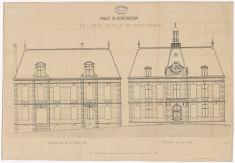 Projet de reconstruction de l'Hôtel de Ville |