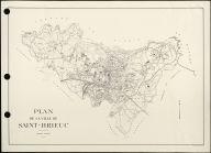 Plan de la ville de Saint-Brieuc  |