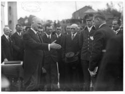 Visite du président Lebrun   Lebrun, Albert