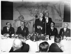 Visite du président Lebrun | Lebrun, Albert