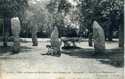 Fête celtique de Saint-Brieuc Le champ du 'Gorsedd'. Parc de la Préfecture  |