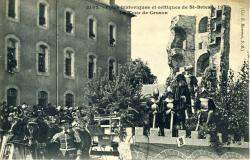 Fêtes historiques et celtiques de Saint-Brieuc, 1906. La tour de Cesson  |