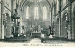 Hôpital général. Intérieur de la chapelle  |