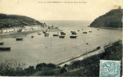 Entrée du port du Légué   