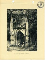 La Fontaine St Brieuc vers 1830  | Kerangal, Emile