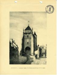Ancienne église St Michel vers la fin du XVIIIème siècle  | Kerangal, Emile