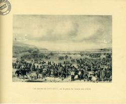 Les courses de St Brieuc sur la grève de Cesson vers 1830  | Kerangal, Emile