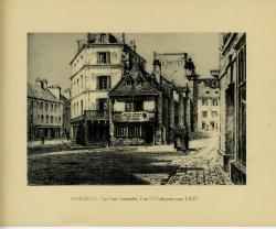 Le Petit Lamballe, rue St Guillaume vers 1830  | Binet, Raphaël