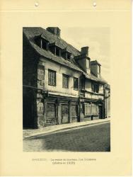 La maison du bourreau, rue Madeleine (abattue en 1928).  | Binet, Raphaël