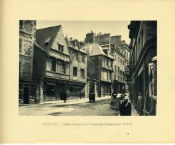 Vieilles maisons rue Houvenagle (abattues en 1930).  | Binet, Raphaël