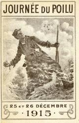 Journée du poilu, les 25 et 26 décembre 1915.  |