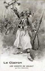 Le clairon. Les chants du soldat  | Déroulède, Paul