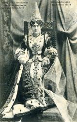 La duchesse Anne de Bretagne le jour de la fête, fête historique St Brieuc 1906  | Le Provost, Mademoiselle